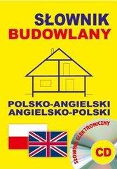 Słownik budowlany polsko-angielski angielsko-polski + CD