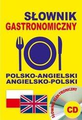 Słownik gastronomiczny polsko-angielski angielsko-polski + CD