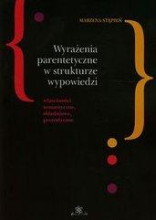 Wyrażenia parentetyczne w strukturze wypowiedzi