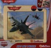 Puzzle w ramce Samoloty Echo / Bravo 12