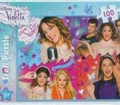 Puzzle 100 Disney Violetta Zakręcony świat Violetty