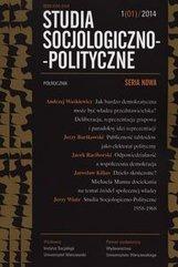 Studia socjologiczn-polityczne 1/2014