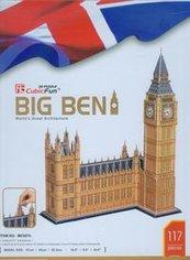 Puzzle 3D Zegar Big Ben duży zestaw