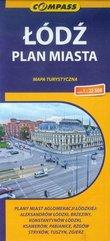 Łódź plan miasta 1:22 500