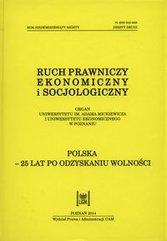 Ruch prawniczy ekonomiczny i socjologiczny Rok 76 zeszyt 2