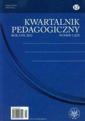 Kwartalnik Pedagogiczny nr 1 2012