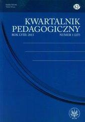 Kwartalnik Pedagogiczny nr 1 2013