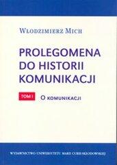 Prolegomena do historii komunikacji