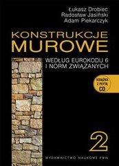 Konstrukcje murowe według Eurokodu 6 i norm związanych Tom 2 + CD