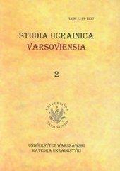 Studia Ucrainica Varsoviensia 2