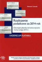 Rozliczenie podatkowe za 2014 rok