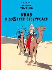 Przygody Tintina Krab o złotych szczypcach Tom 9