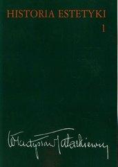 Historia estetyki Tom 1