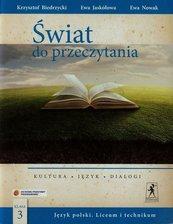 Świat do przeczytania 3 Podręcznik Kultura język dialogi