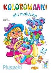 Kolorowanki dla malucha Pluszaki