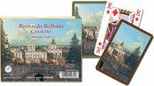 Karty do gry Piatnik 2 talie Canaletto, Pałac w Wilanowie