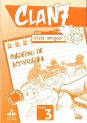 Clan 7 con Hola amigos 3 Zeszyt ćwiczeń