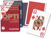 Karty do gry Piatnik 1 talia, Opti poker