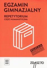 Egzamin gimnazjalny Repetytorium Część humanistyczna