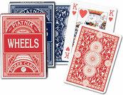 Karty do gry Piatnik 1 talia Wheels pokerowe