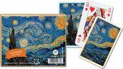 Karty do gry Piatnik 2 talie Van Gogh Gwiaździsta noc