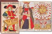 Karty do gry Piatnik 1 taliaTarot Marsylski