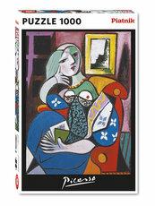 Puzzle Piatnik Picasso Kobieta z książką 1000