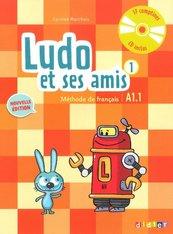 Ludo et ses amis 1 niveau A1.1 Podręcznik +CD