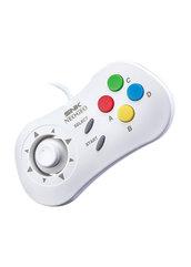 Oficjalny kontroler NEOGEO Mini Console - Biały (HOBBY)