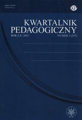 Kwartalnik Pedagogiczny 3/2015