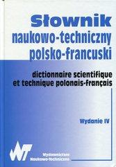 Słownik naukowo-techniczny polsko-francuski