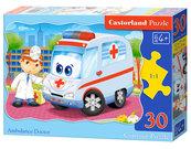 Puzzle konturowe Ambulance Doctor 30