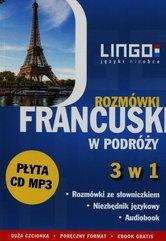 Francuski w podróży Rozmówki 3 w 1 + CD