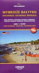 Wybrzeże Bałtyku Niechorze-Ustronie Morskie mapa turystyczna 1:50 000
