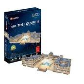 Puzzle 3D LED Luwr 137