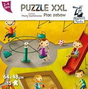 Puzzle XXL Plac zabaw 2-4 lata