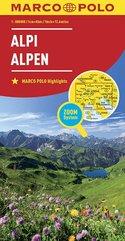 Alpy mapa