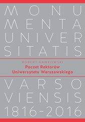 Poczet Rektorów Uniwersytetu Warszawskiego