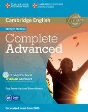 Complete Advanced Student's Book without answers z płytą CD
