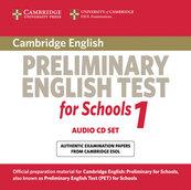 Cambridge Preliminary English Test for Schools 1 Audio 2CD
