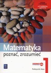 Matematyka Poznać, zrozumieć 1 Podręcznik Zakres podstawowy i rozszerzony