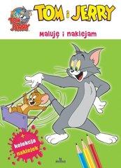 Tom i Jerry Maluję i naklejam