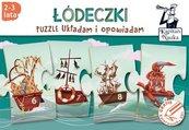 Puzzle Układam i opowiadam Łódeczki 2-3 lata