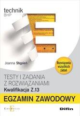 Egzamin zawodowy Testy i zadania z rozwiązaniami Z.13