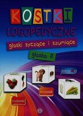 Kostki logopedyczne głoski szyczące i szumiące głoska R