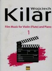 Muzyka filmowa na skrzypce flet i fortepian zeszyt 1