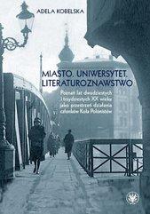 Miasto Uniwersytet Literaturoznawstwo