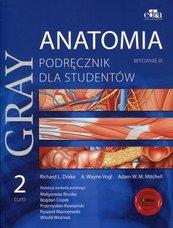 Gray Anatomia Podręcznik dla studentów Tom 2
