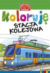 Koloruję Stacja kolejowa