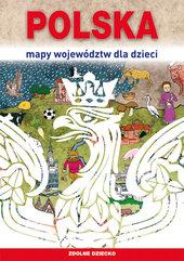 Polska Mapy województw dla dzieci